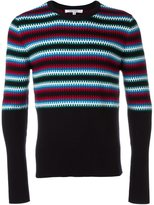 Carven striped intarsia jumper