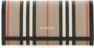 Burberry Icon Striped Logo Wallet