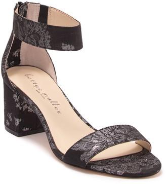 Bettye Muller Tangle Brocade Block Heel Sandal