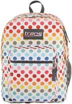 """JanSport Trans By 17"""" SuperMax Backpack - Rainbow Dot"""