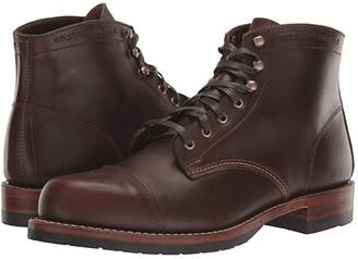 Wolverine Heritage 1000 Mile Cap-Toe Boot (Havana Brown) Men's Boots