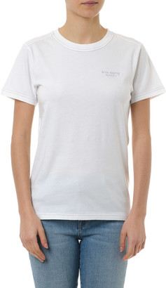 Acne Studios Wanda White Cotton T-shirt