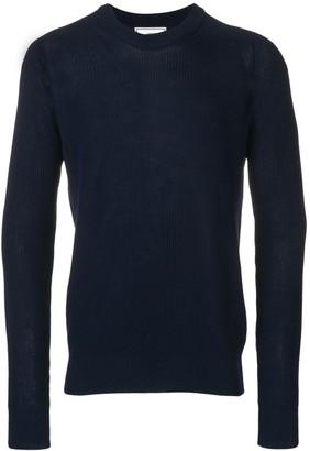 Ami Paris Fisherman Rib crew neck Sweater