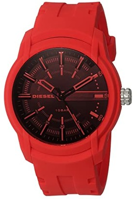Diesel Armbar - DZ1820 (Red) Watches