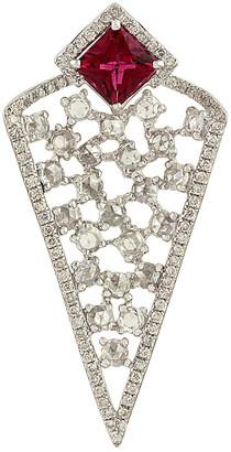 Artisan Jewelry Artisan 18K 1.75 Ct. Tw. Diamond & Tourmaline Pendant