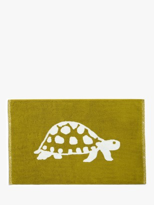 John Lewis & Partners Turtles Terry Cotton Bath Mat