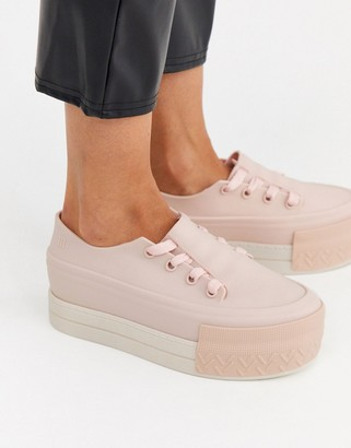 Melissa chunky trainer in beige
