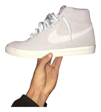 Nike Grey Suede Lace ups