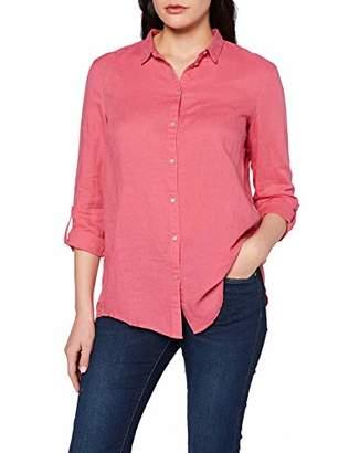 Esprit Women's 037EE1F025 Regular Fit Long Sleeve Blouse - Red - UK 12