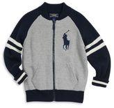 Ralph Lauren Toddler's & Little Boy's Reversible Varsity Jacket