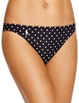 Polo Ralph Lauren Pin Dot Hipster Bikini Bottom