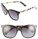 Kate Spade Women's Julieanna 54Mm Polarized Sunglasses - Black Havana