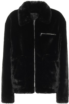 RtA Reese faux-fur jacket