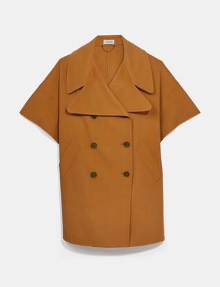 Coach Luxury Wool Cape