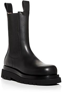 Bottega Veneta Men's Tall Platform Chelsea Boots