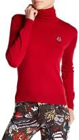 Love Moschino Turtleneck Logo Sweater