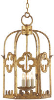 Visual Comfort & Co. Baltic Lantern, Gilded Iron