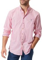 Joules Talbert Stripe Classic Fit Shirt, Pink