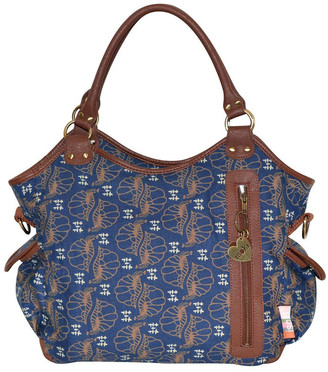 Isoki Hobo Angel San Remo Nappy Bag Blue
