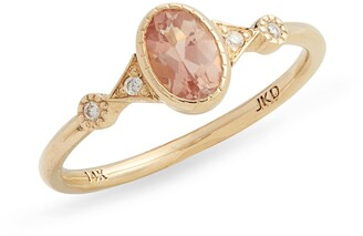 Jennie Kwon Designs Sunstone Duo Deco Ring