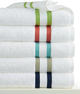"Kassatex Mayfair Stripe 13"" x 13"" Washcloth"