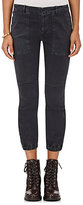 Nili Lotan Women's Twill Military Pants-DARK GREY