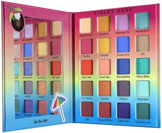 Violet Voss Sea You Later Eyeshadow and Pressed Pigment Palette