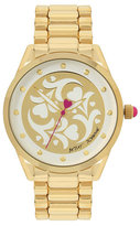 Betsey Johnson Heart Flowers Giftboxed Watch