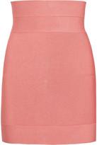 Herve Leger High-waisted bandage skirt
