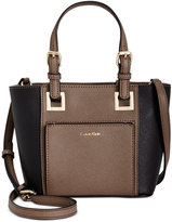 Calvin Klein Mini Saffiano Leather Crossbody