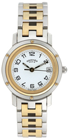 Hermes Vintage Herm̬s Clipper Two-Tone Watch, 24mm