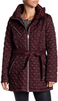 Andrew Marc Cassidy Quilted Packable Hood Jacket