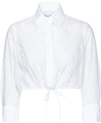 Alaia Edition 2009 broderie anglaise shirt