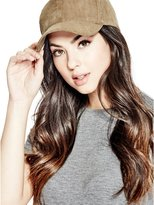 GUESS Faux-Suede Baseball Cap