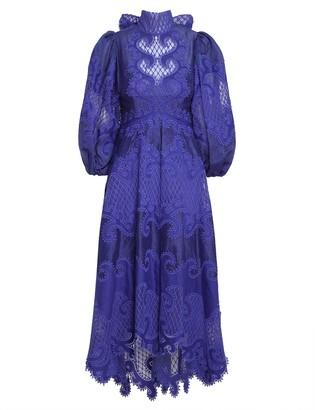 Zimmermann Brightside Embroidered Gown