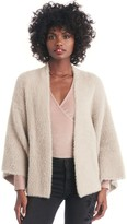 Sole Society Fuzzy Cropped Cardigan