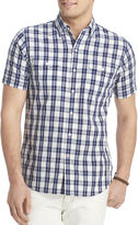 Izod Short-Sleeve Plaid Shirt
