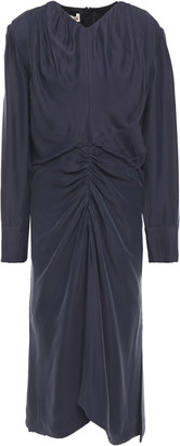 Marni Ruched Crepe Dress