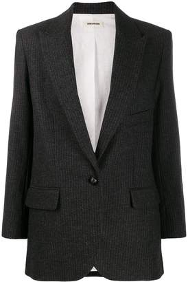 Zadig & Voltaire Zadig&Voltaire Vow pinstripe blazer