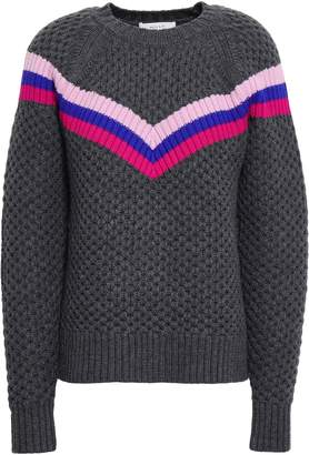 Milly Striped Wool-blend Sweater