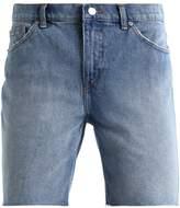 Cheap Monday Sonic Denim Shorts 90s Blue Organic
