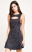 RVCA Junior's Peeker Skater Dress
