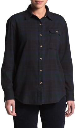 The North Face Berkeley Long Sleeve Boyfriend Flannel Shirt