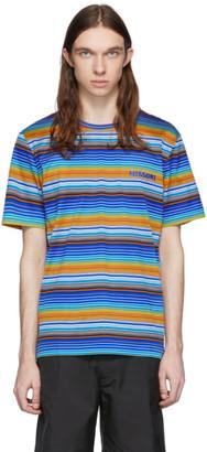Missoni Multicolor Striped Logo T-Shirt