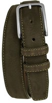 Boconi Men's 'Tyler' Double Stitched Suede Belt