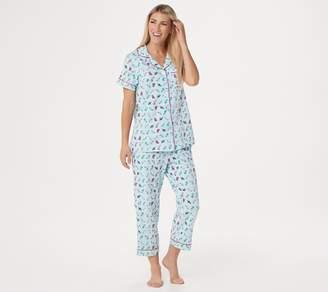 Beauty Sleep By Bedhead Beauty Sleep by BedHead Short Sleeve Notch Collar PJ Set