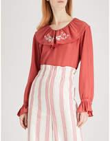 Vilshenko Celita silk blouse