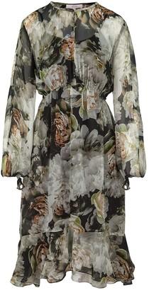 Ethereal London Isla Print Knee Length Dress