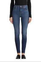 J Brand Maria High-Rise Super Skinny in Ultra Lush Fleeting