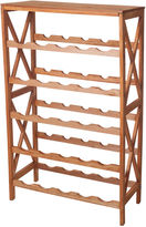 JCPenney LAVISH HOME Lavish HomeTM Classic 25-Bottle Wine Rack